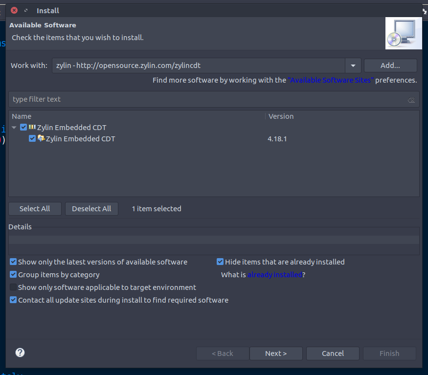 Eclipse IDE and JTAG